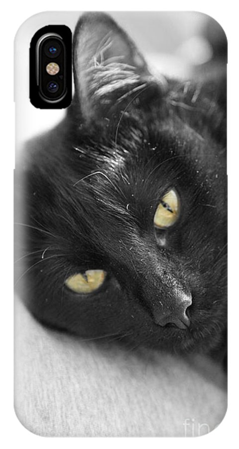 Caspian IPhone X Case featuring the photograph Caspian by Amanda Barcon