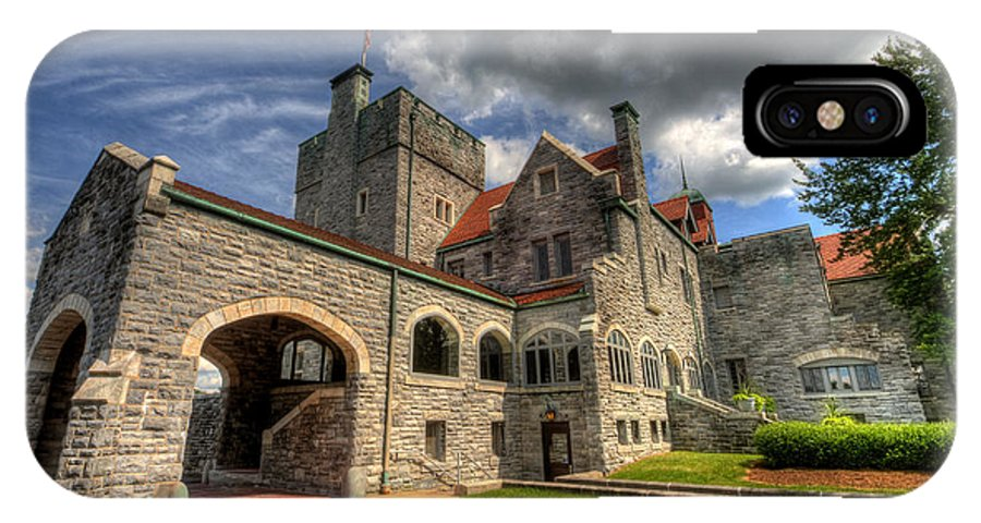Castle IPhone X Case featuring the photograph Castle Administration Building by David Dufresne