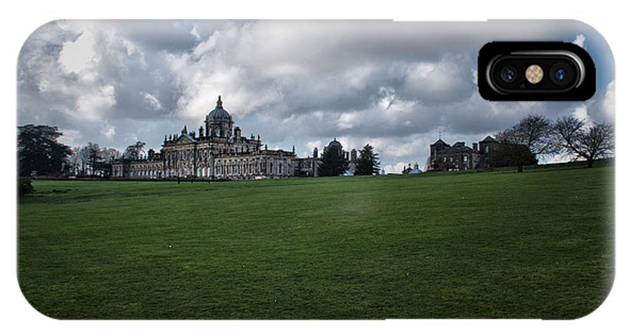 Castle Howard IPhone X Case featuring the photograph Castle Howard by Andy Davenport