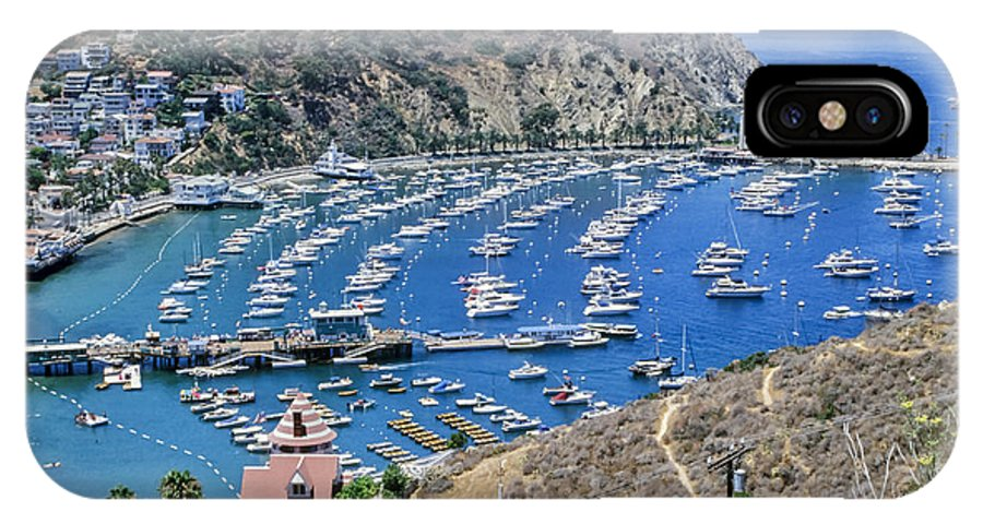 Catalina IPhone X Case featuring the photograph Catalina Harbor by Kelley King