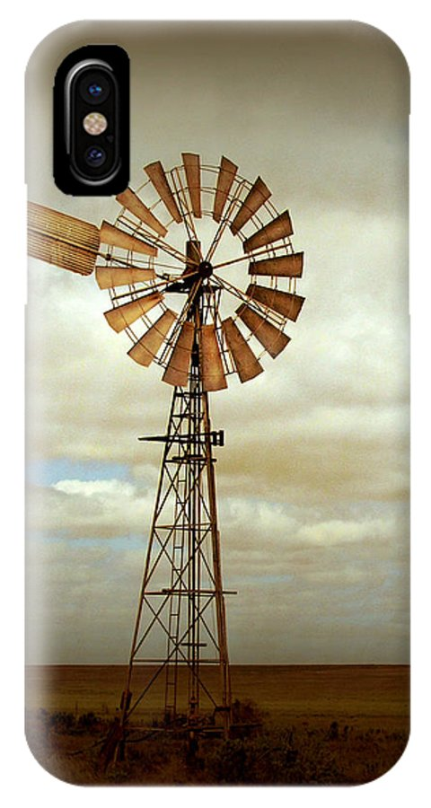Windmill IPhone X Case featuring the photograph Catch the Wind by Holly Kempe