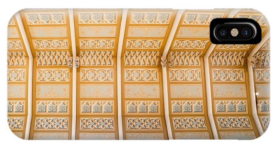 Cathedral IPhone X Case featuring the photograph Cathedral Ceiling by Melinda Ledsome