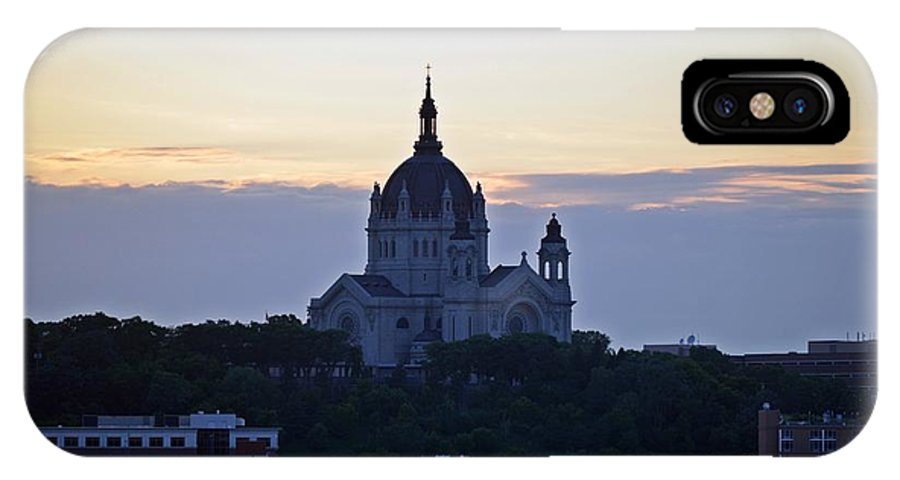 Cathedral Of Saint Paul IPhone X Case featuring the photograph Cathedral Of Saint Paul by Amanda Hilden