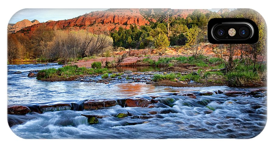 Cathedral Rock IPhone X Case featuring the photograph Cathedral Rock II by Diana Powell