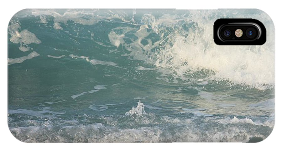 Ocean IPhone X Case featuring the photograph Caught In Time by Cynthia N Couch