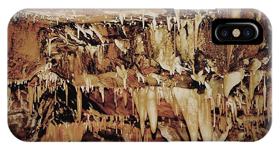 Caverns IPhone X Case featuring the photograph Cavern Beauty by Dan Sproul