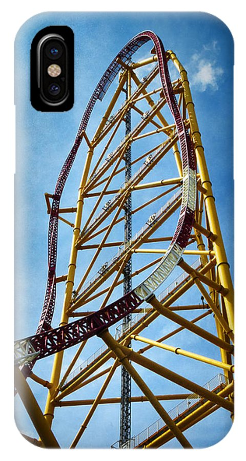 Cedar Point Top Thrill Dragster Iphone X Case
