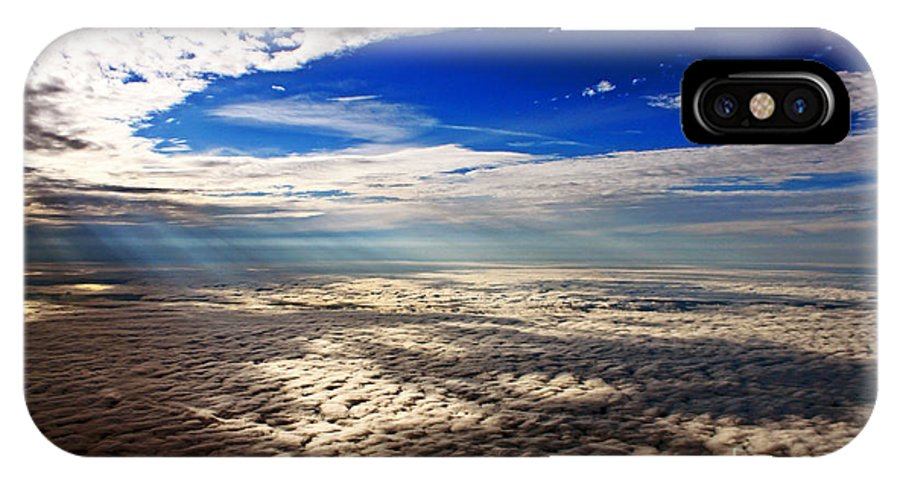 Cloud Formations IPhone X Case featuring the photograph Ceiling High 3 by Earl Johnson