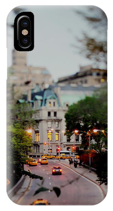 Centralpark IPhone X / XS Case featuring the photograph Central Park Fairytales by Chelsea Victoria