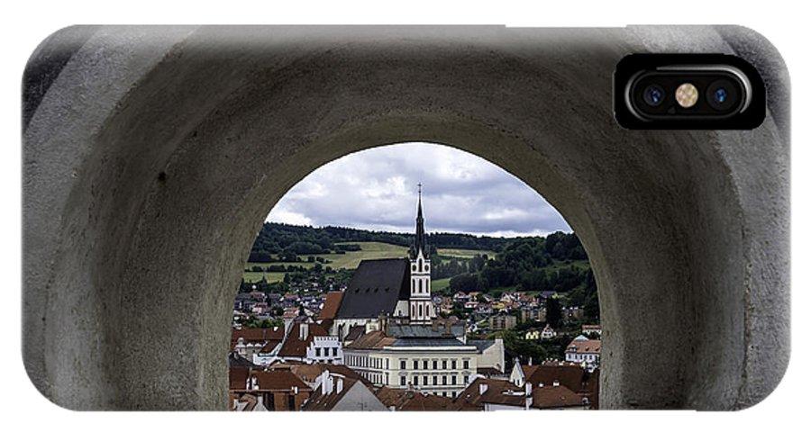 Cesky IPhone X Case featuring the photograph Cesky Krumlov. by Fernando Barozza