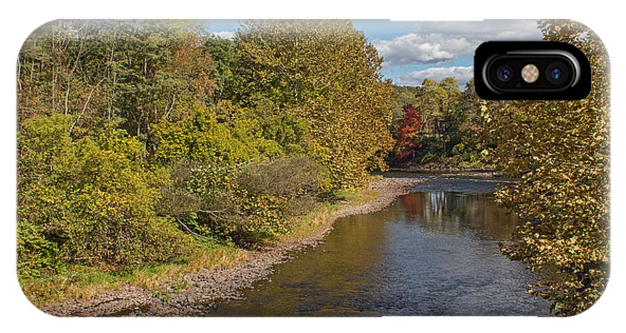 River IPhone X Case featuring the photograph Change Of Season by Arlene Carmel