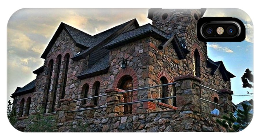 Church IPhone X Case featuring the photograph Chapel On The Rock 2012 by Sam Laing