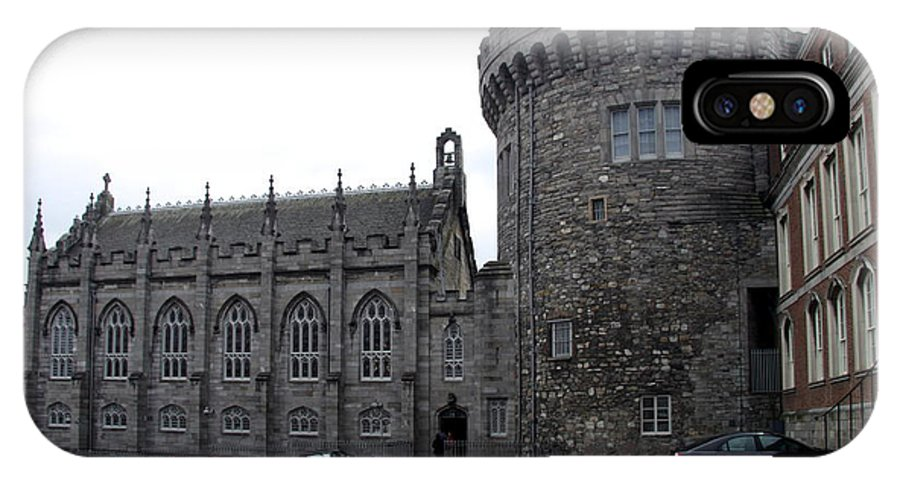 IPhone X Case featuring the photograph Chapel Royal And Record Tower - Dublin Castle by Christiane Schulze Art And Photography