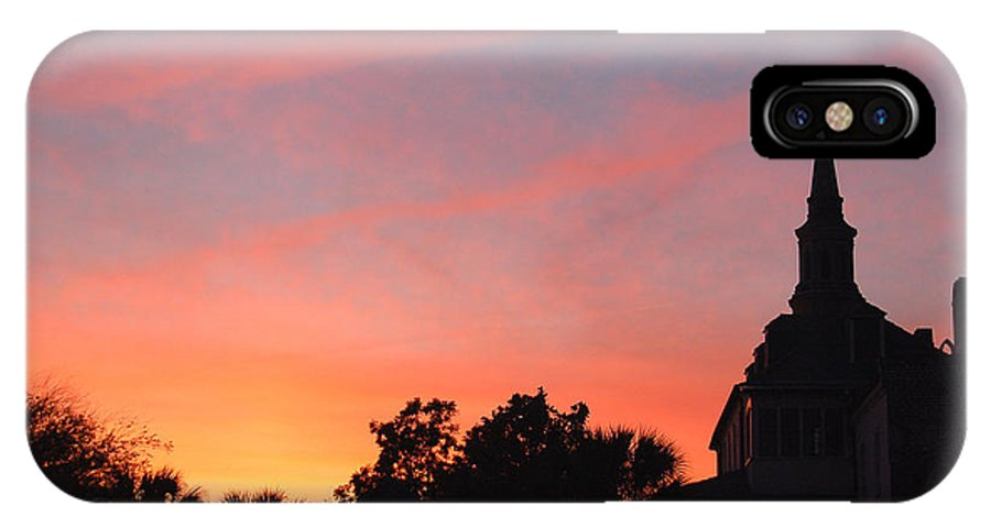 Charleston IPhone Case featuring the photograph Charleston At Dusk by Suzanne Gaff