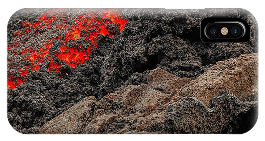 Lava IPhone X Case featuring the photograph Chasing Styx by Jim Southwell