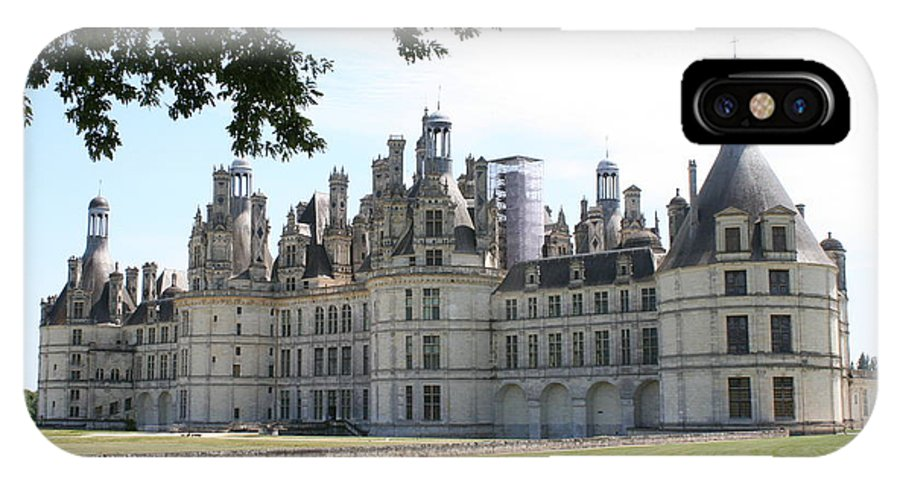Palace IPhone X Case featuring the photograph Chateau Chambord - France by Christiane Schulze Art And Photography