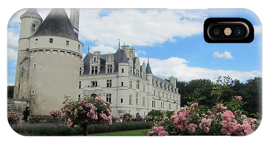 Chateau IPhone X Case featuring the photograph Chateau Chenonceau by Pema Hou