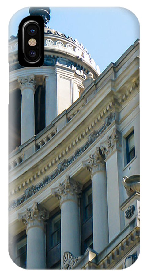 Chicago IPhone X Case featuring the photograph Chicago Architecture by J Havnen