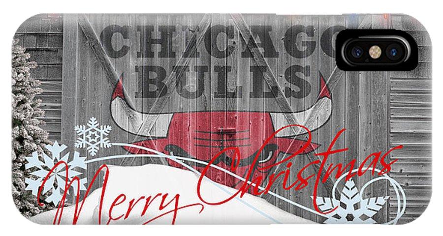 Bulls IPhone X Case featuring the photograph Chicago Bulls by Joe Hamilton
