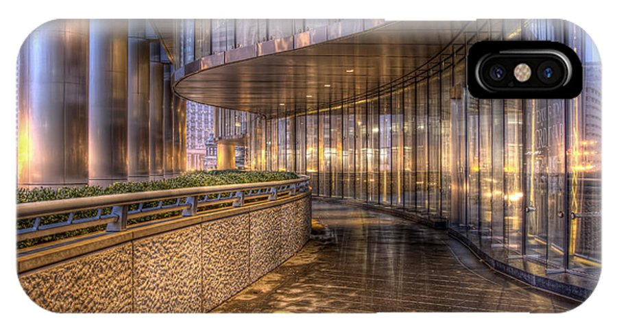 Trump Tower IPhone X Case featuring the photograph Chicago Curves by Lindley Johnson