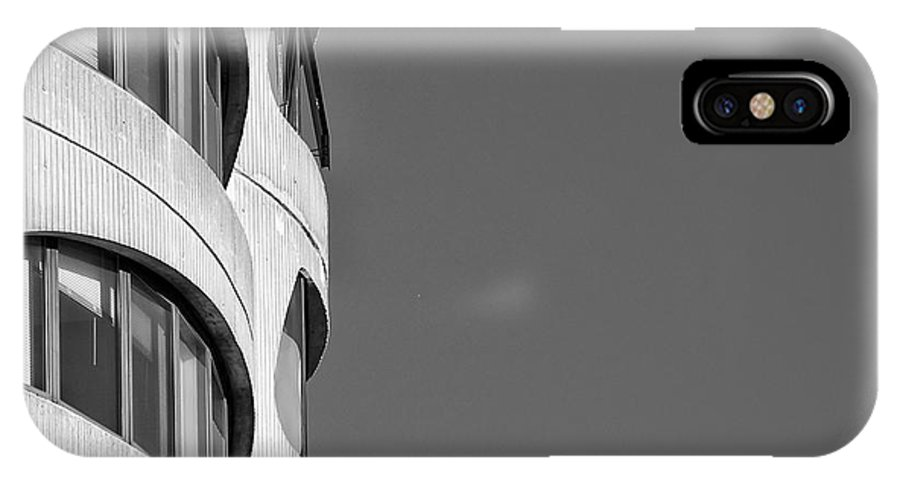Architecture IPhone X Case featuring the photograph Chicago's Hillard Towers by Ken McAllister