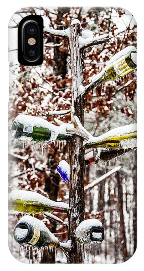 Wine IPhone X Case featuring the photograph Chilled Wine by Randy Davidson