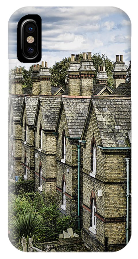 Chimney IPhone X Case featuring the photograph Chimney Tops by Heather Applegate