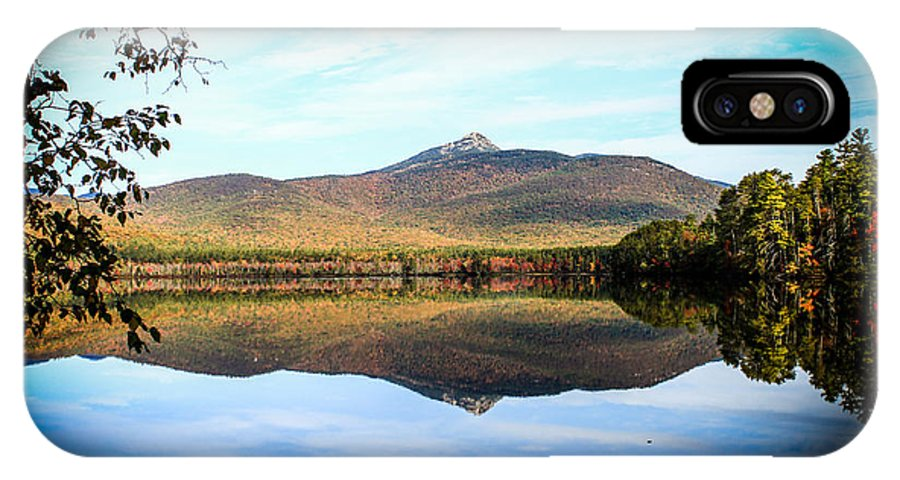 Landscape IPhone X Case featuring the photograph Chocorua Lake by Michael Donovan