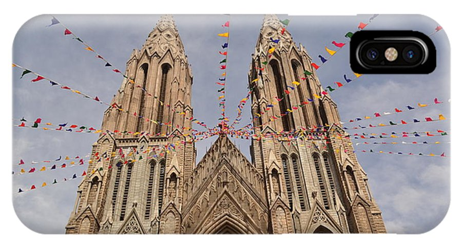 Church IPhone X / XS Case featuring the photograph Church by Praveen Kanade