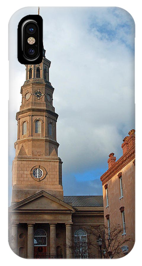 Church Street IPhone Case featuring the photograph Church Street In Charleston Sc by Suzanne Gaff