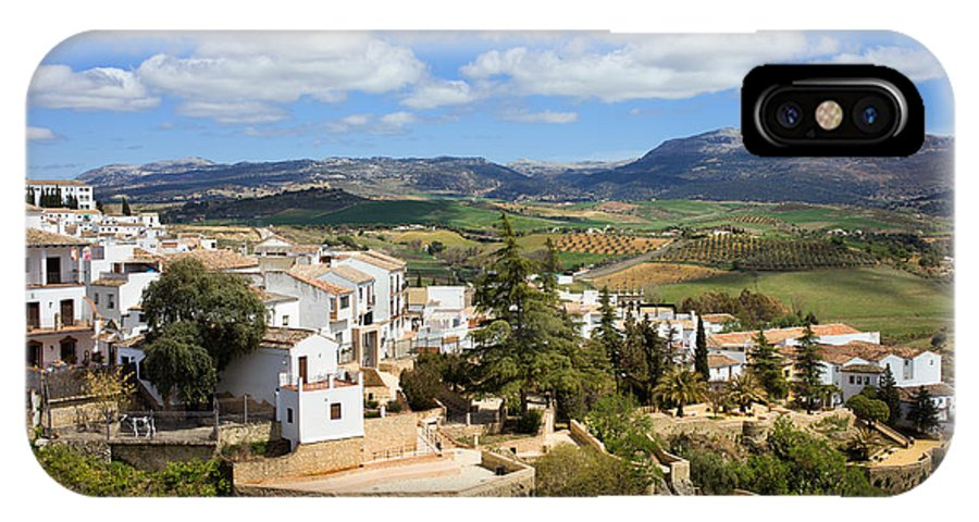 Ronda IPhone X Case featuring the photograph City Of Ronda In Spain by Artur Bogacki
