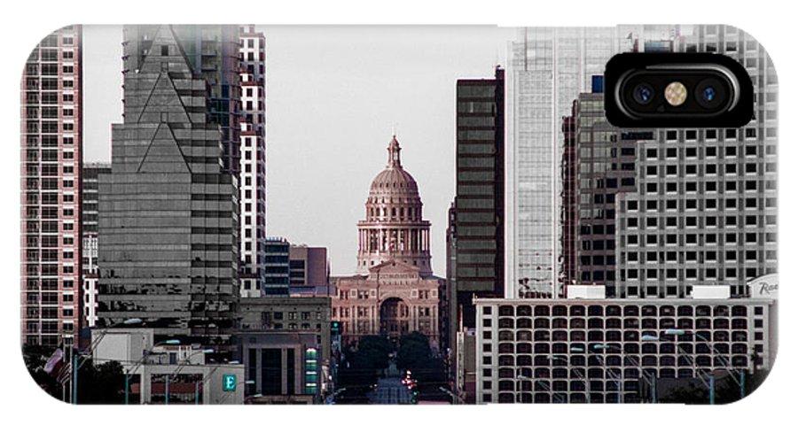 Building IPhone X Case featuring the photograph Cityscape 28 B Austin by Otri Park