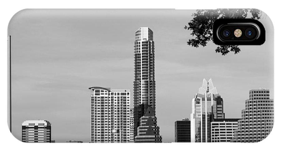 Building IPhone X Case featuring the photograph Cityscape 28 C Austin by Otri Park