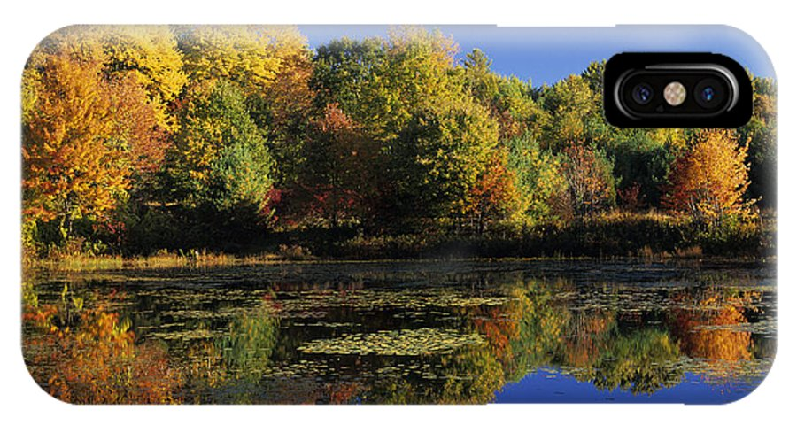 Fall IPhone Case featuring the photograph Clark Pond - Auburn New Hampshire by Erin Paul Donovan
