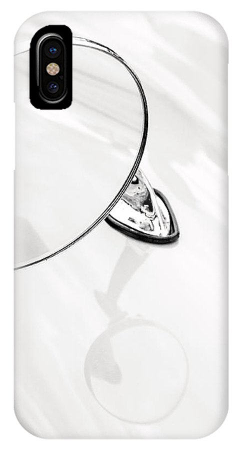 Automobile IPhone X Case featuring the photograph Classic Car Side Mirror by Don Johnson