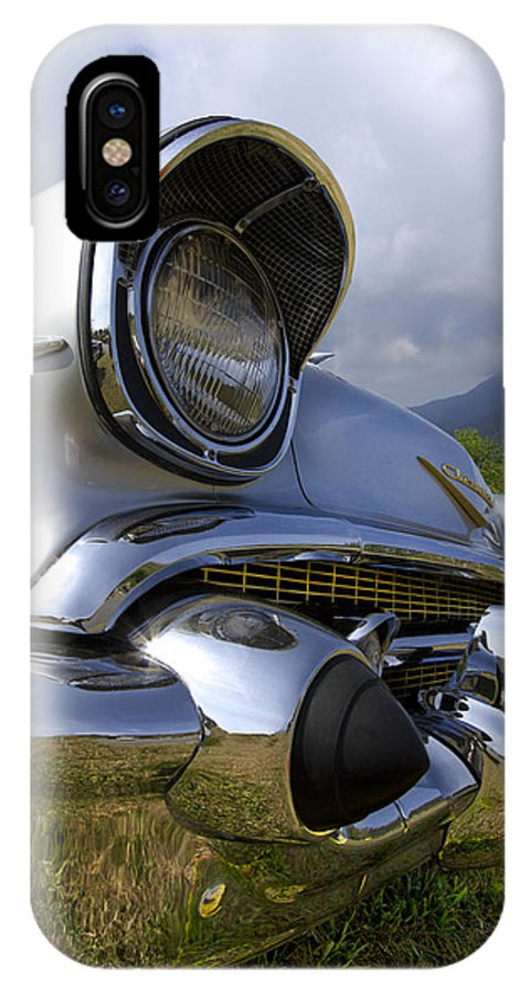 57 IPhone X Case featuring the photograph Classic Chevrolet by Debra and Dave Vanderlaan