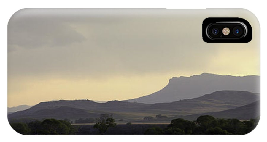 IPhone X Case featuring the photograph Classic Yellowstone Buttes At Dusk by Dr Gary Guest