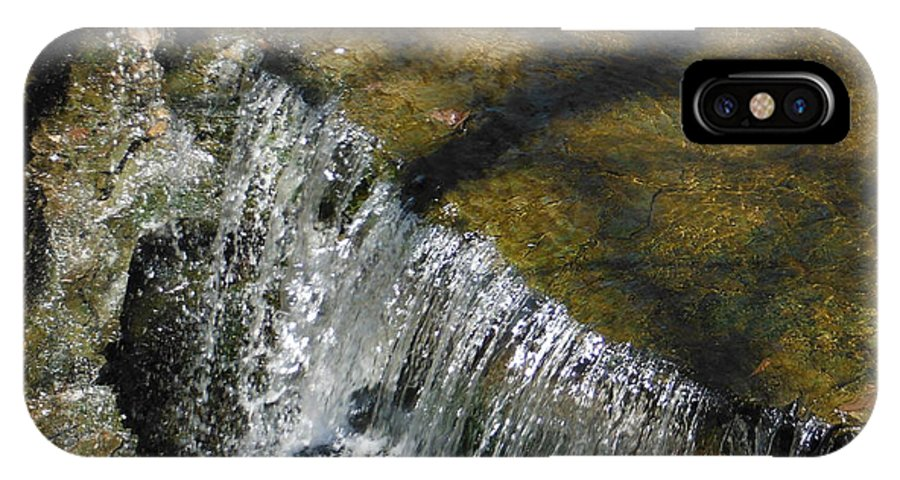 Clear Beautiful Water Series IPhone X Case featuring the photograph Clear Beautiful Water Series 1 by Paddy Shaffer