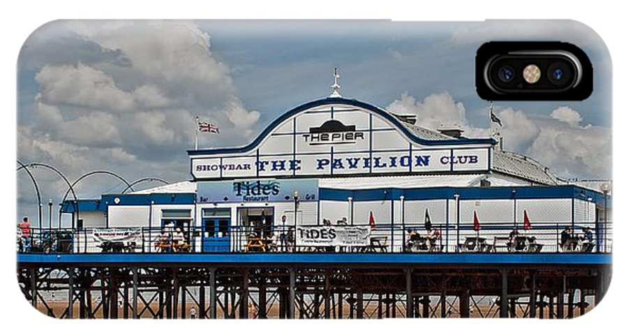 Pier IPhone X Case featuring the photograph Cleethorpes Pier by Ray Hydes