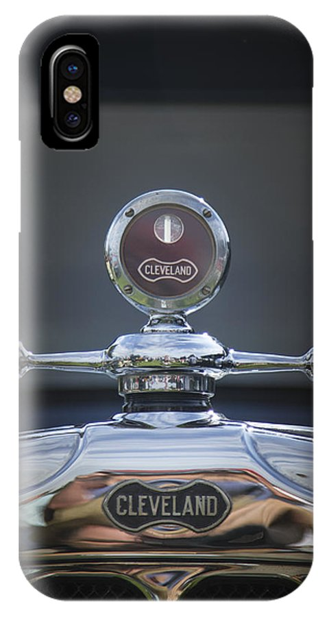 Cleveland IPhone X Case featuring the photograph Cleveland by Jack R Perry