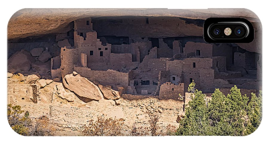 Mesa Verde Cliff Dwelling IPhone X / XS Case featuring the photograph Cliff Dwelling by Paul Freidlund