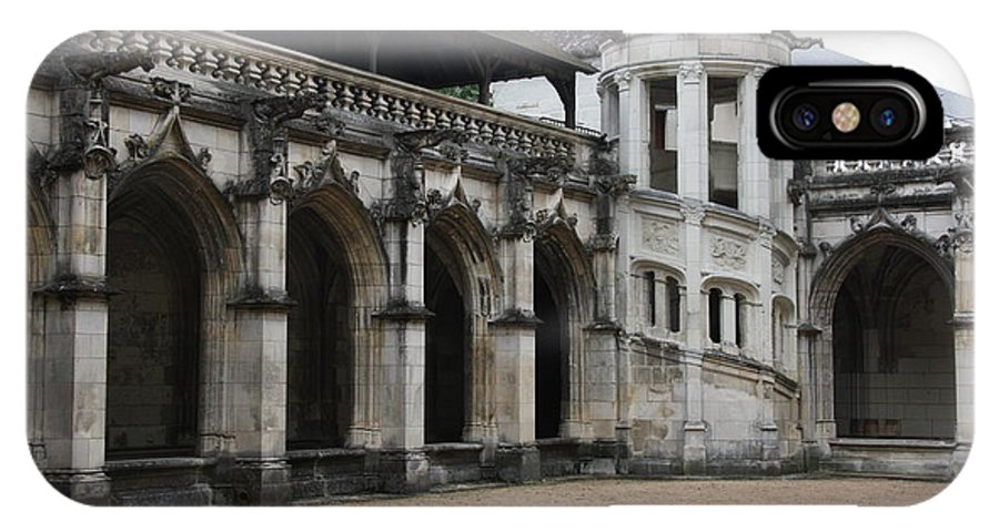 Cloister IPhone X Case featuring the photograph Cloister And Staircase Cathedral Tours by Christiane Schulze Art And Photography