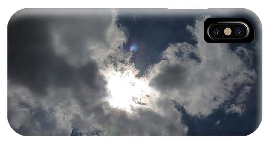 Clouds IPhone X Case featuring the photograph Cloud Series 22 by Bill Marder
