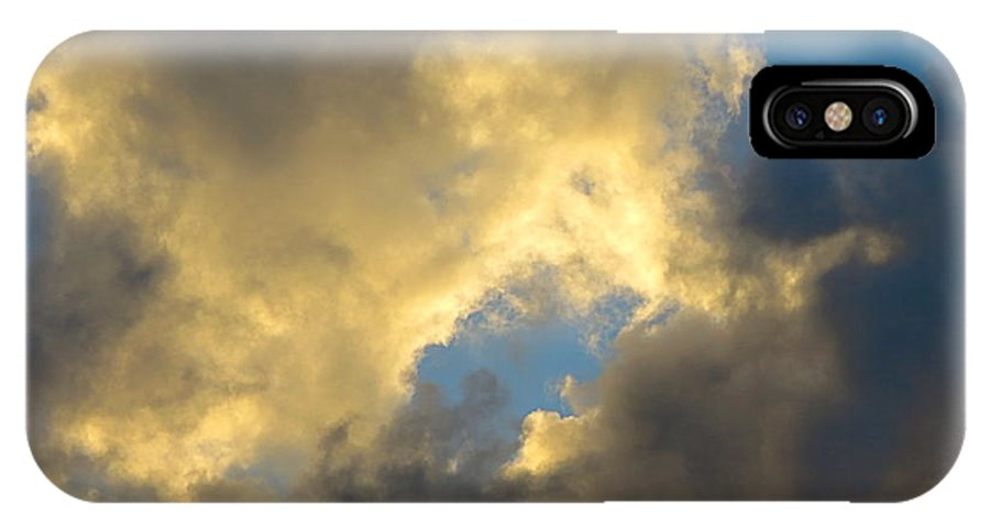 Cloud Series Ii - L IPhone X Case featuring the photograph Cloud Series II - L by Robert Birkenes