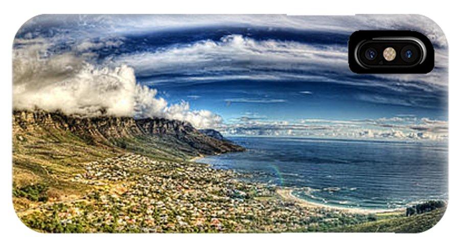Babur Yakar IPhone X Case featuring the photograph Clouds by Babur Yakar