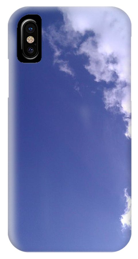 Sky IPhone X Case featuring the photograph Clouds by Jennifer Tomlin
