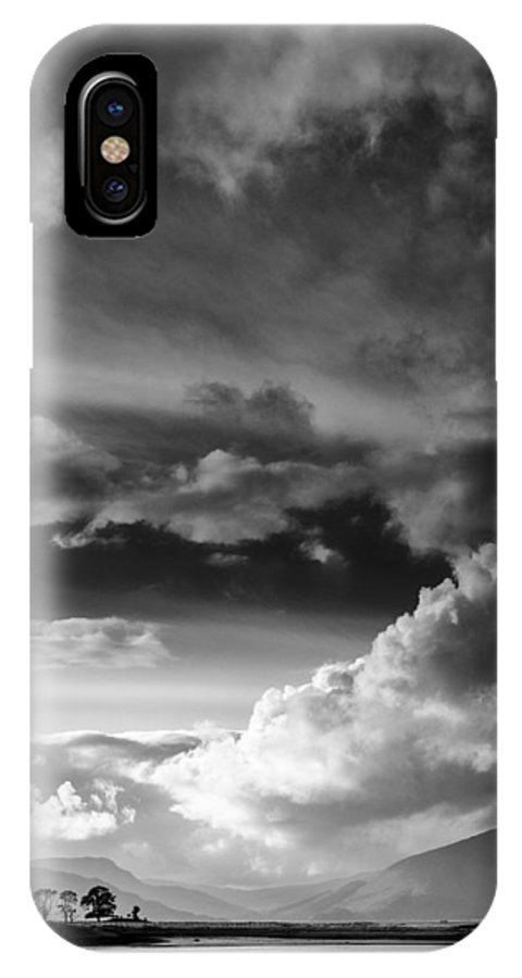 Loch Laich IPhone X Case featuring the photograph Clouds Over Loch Laich by Dave Bowman
