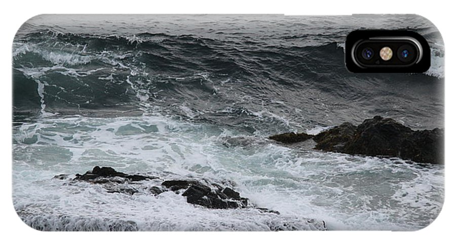 Maine IPhone X Case featuring the photograph Coastal Maine 3 by Susan Feeley