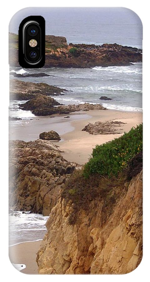 Coast IPhone X Case featuring the photograph Coastal Scene 8 by Pharris Art