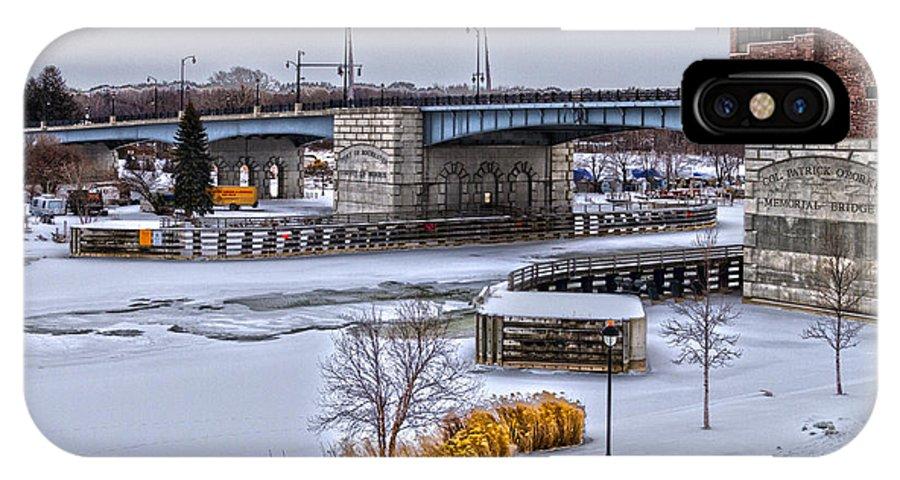 Col Patrick O'rorke Memorial Bridge IPhone X Case featuring the photograph Col Patrick O' Rorke Memorial Bridge by William Norton